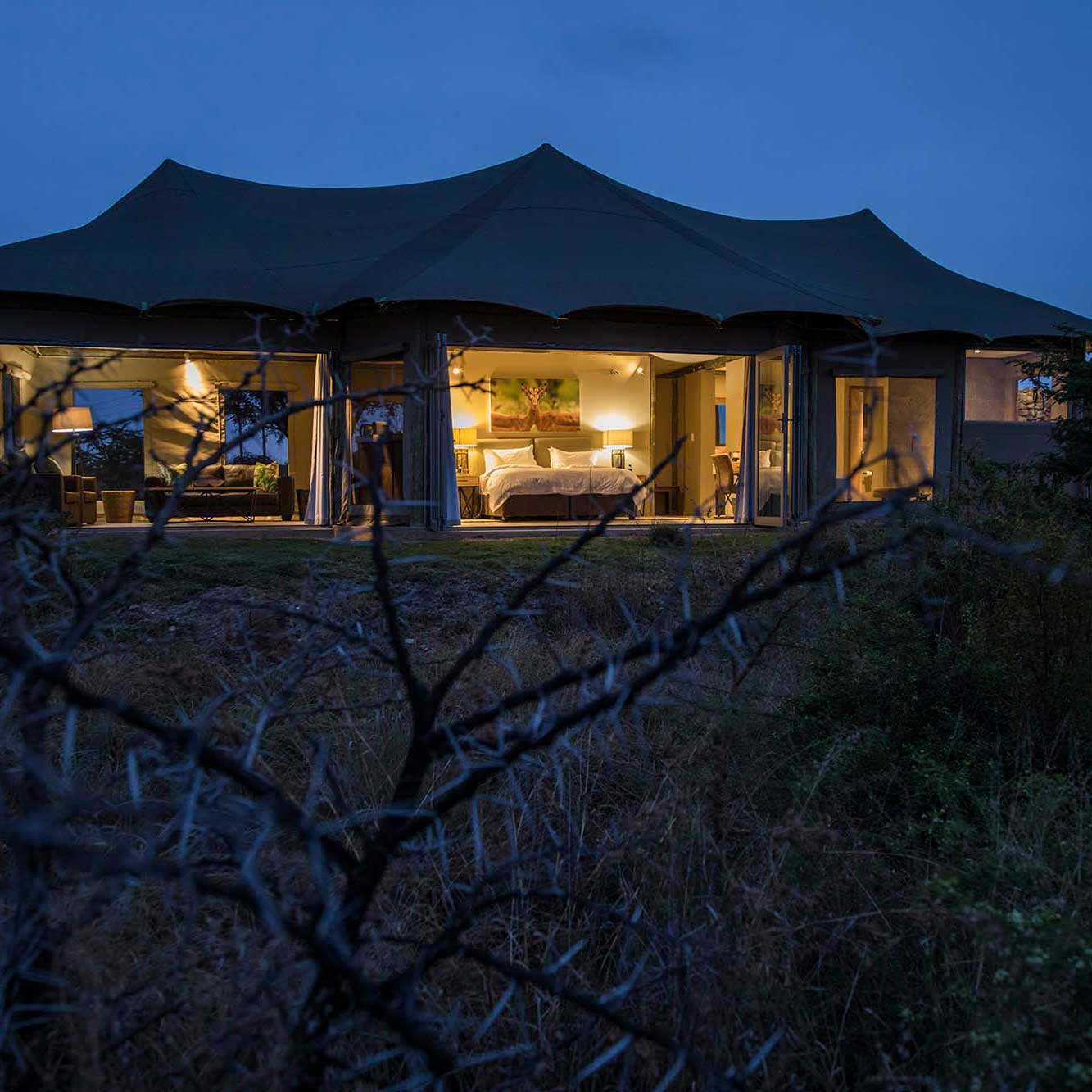 Luxury Safari Tented Suites