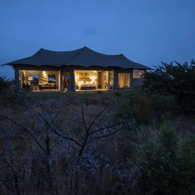 Ndaka safari lodge - luxury tents