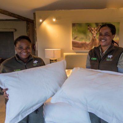 ndaka safari lodge - fresh sheets
