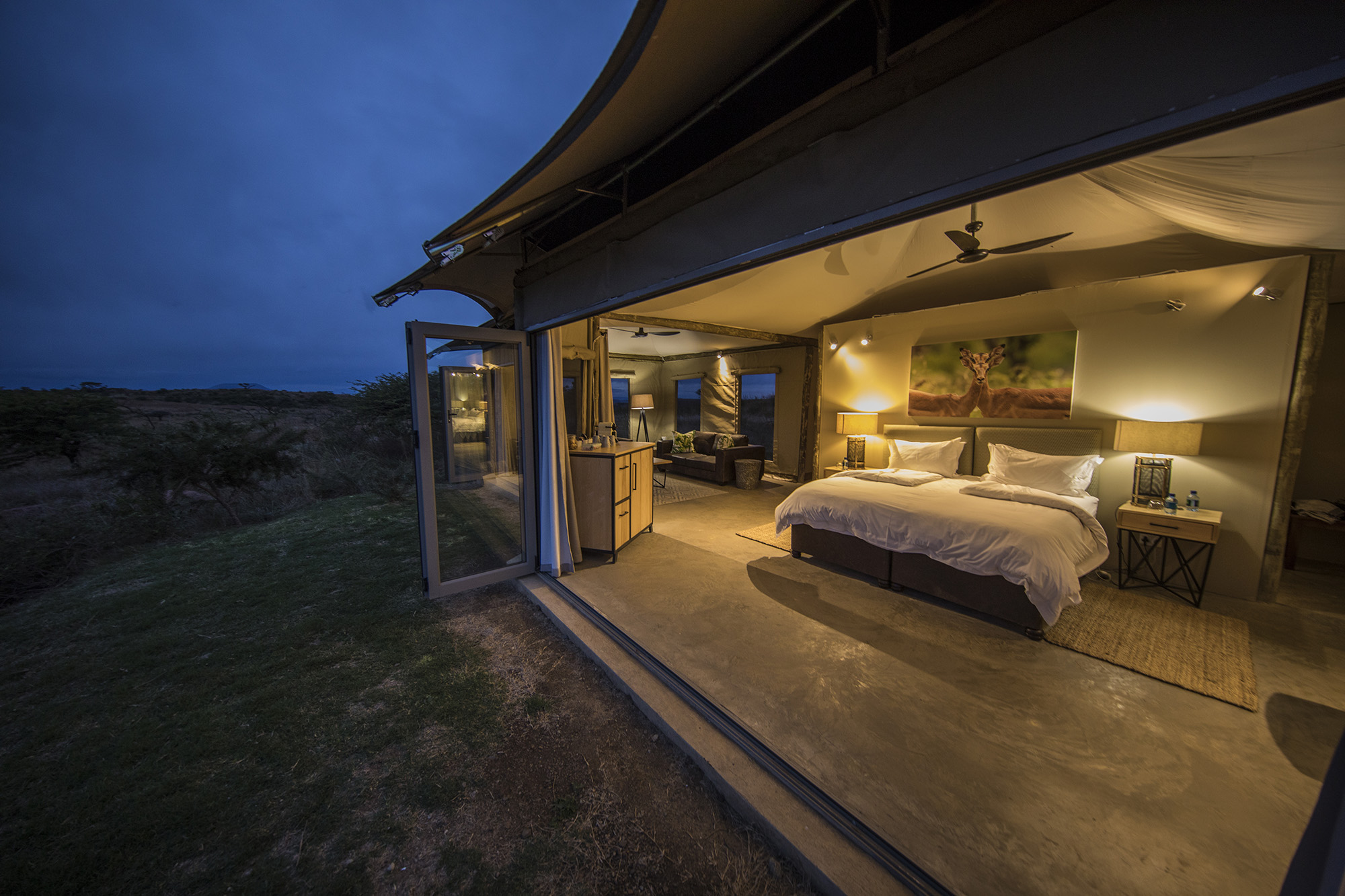Ndaka safari lodge - tented accommodation