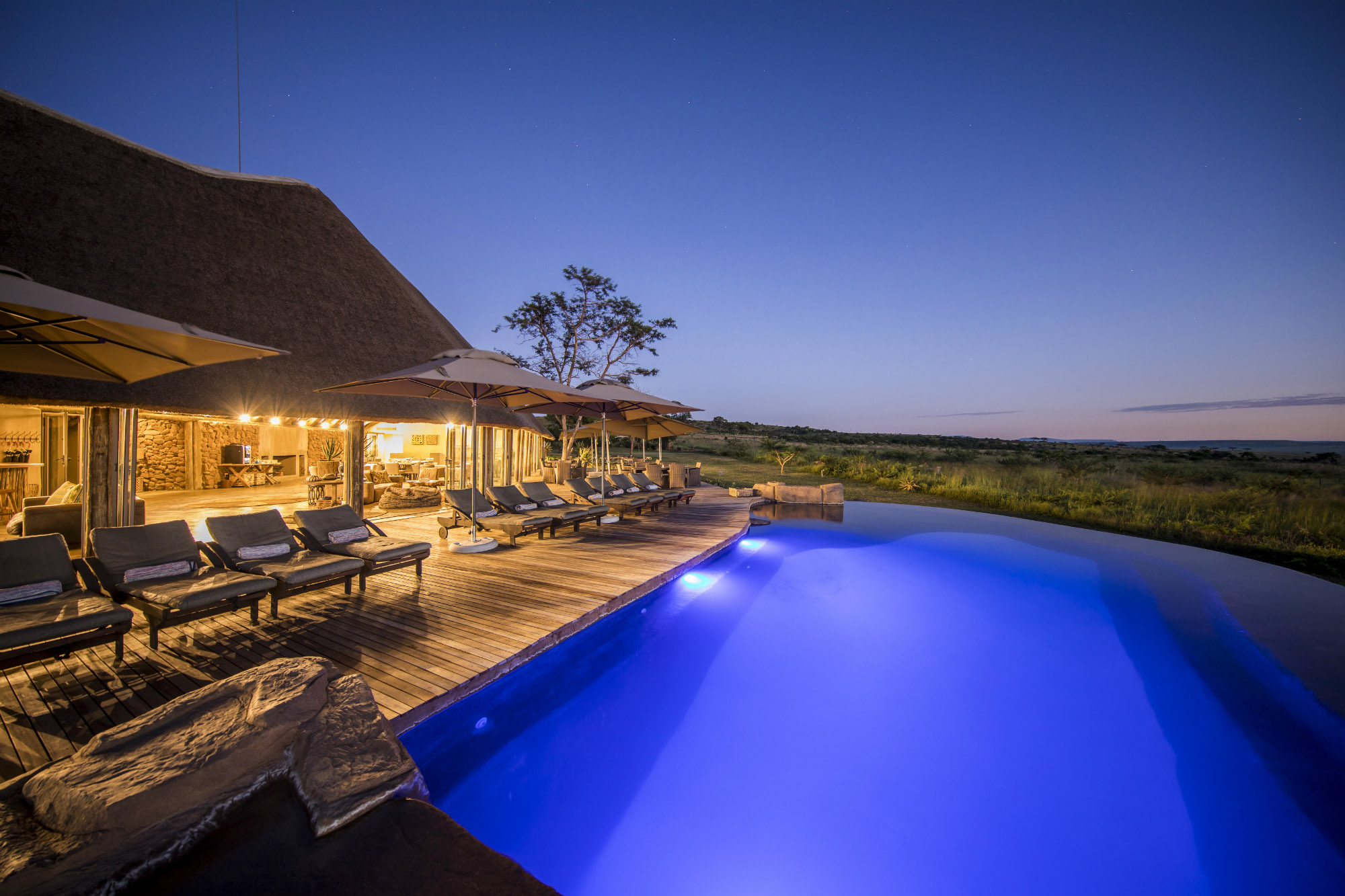 Ndaka safari lodge - pool